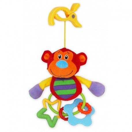 Baby Mix hračka Opička + hrkálka 2020